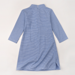 Qipao Blue stripes