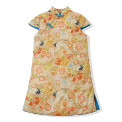 Winter Qipao Apricot