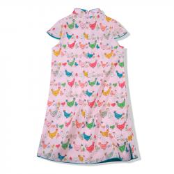 Qipao Pink fowl