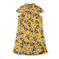 Qipao Yellow panda