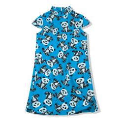Qipao Blue panda