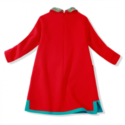 Winter Qipao Red