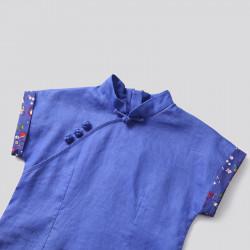 Qipao Royal Blue