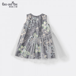 Winter Qipao Gray black