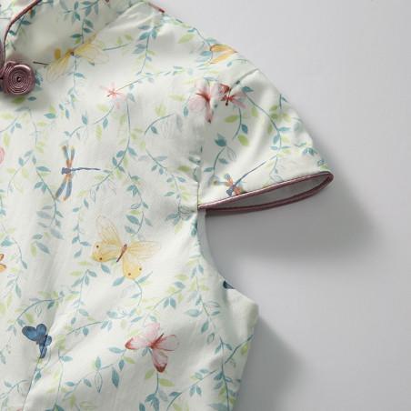 Dress Colorful triangle print